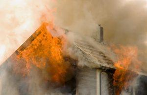 Обследование дома после пожара