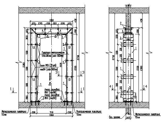 Рисунок 4. Вид А, сечение 2-2