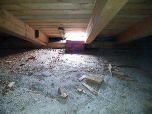 Обследование крыши дома