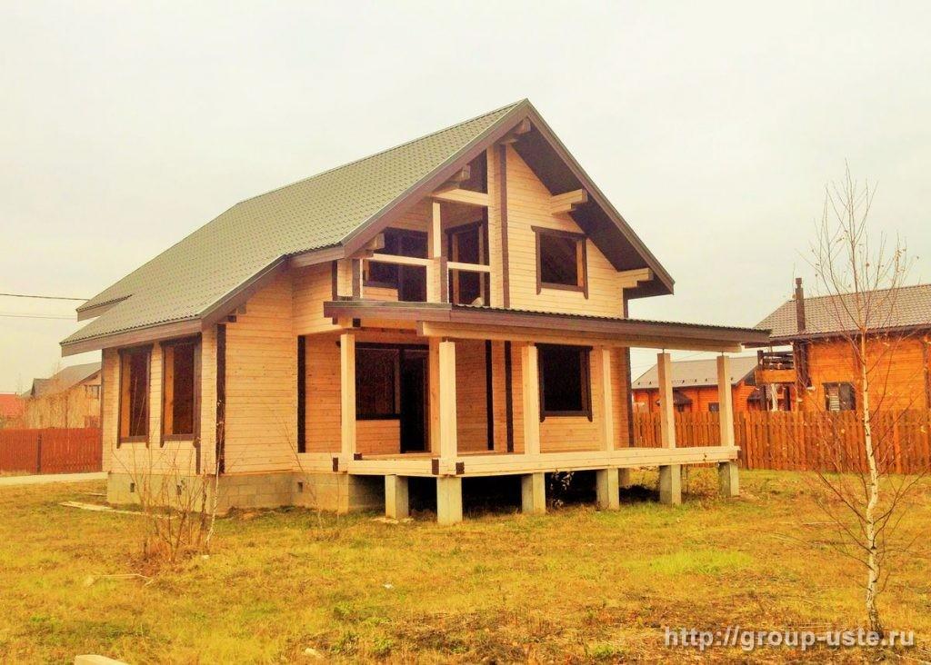 Экспертиза перед покупкой дома из профилированного бруса в Московской области